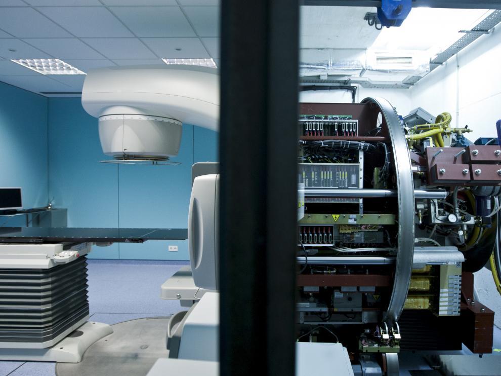 Aragón cuenta con cuatro aceleradores en hospitales públicos, dos en el Servet.