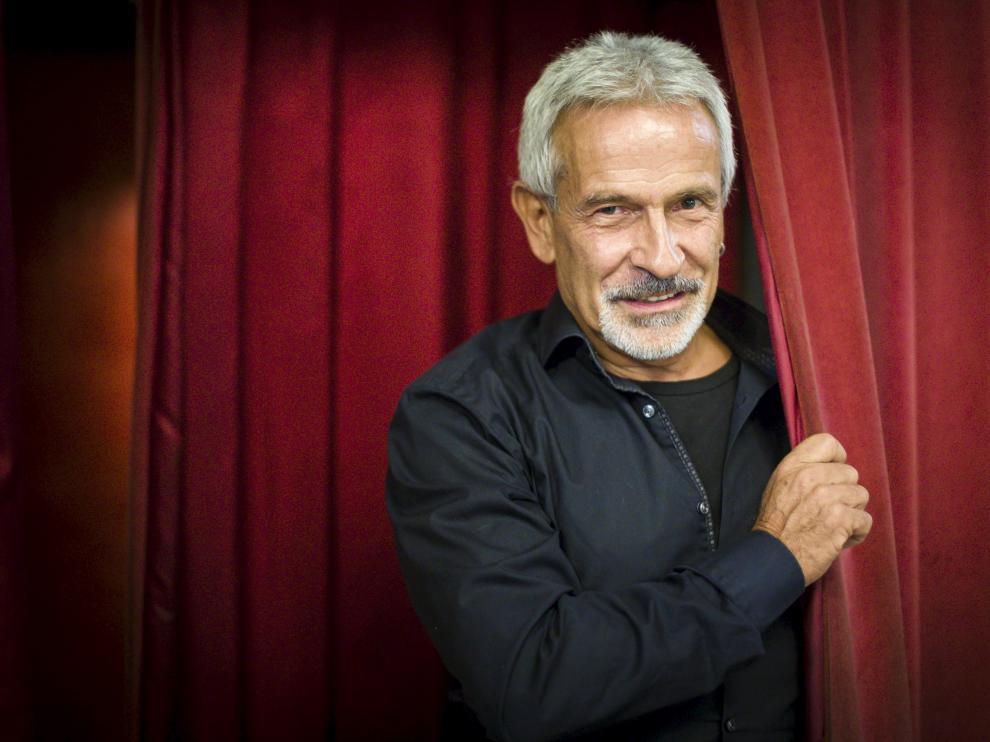 Víctor Ullate en el Teatro Principal de Zaragoza.