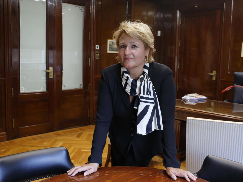 Teresa Ruiz,  directora comercial de Banca Privada en Banco Santander Aragón, Navarra y La Rioja.