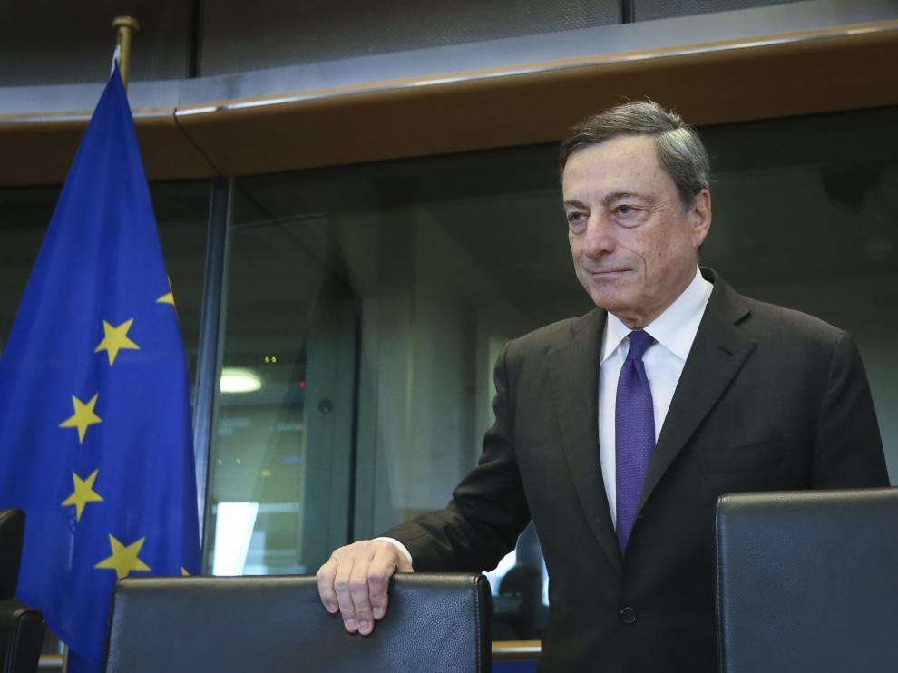 Mario Draghi, presidente del Bacon Central Europeo.