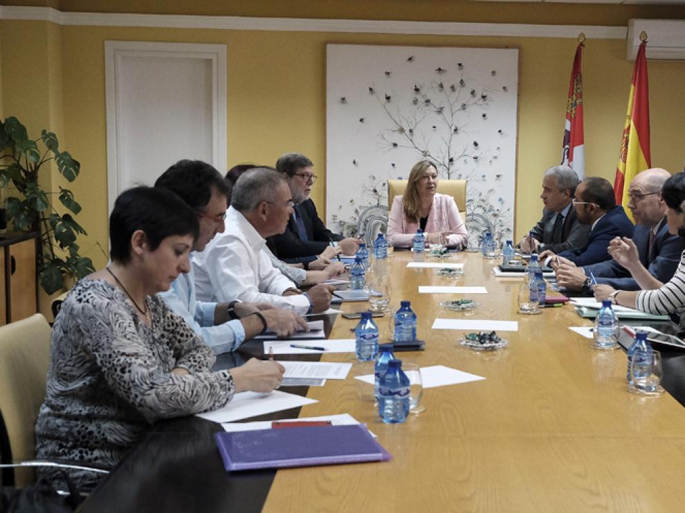 Reunión para la elaboración del Plan de Dinamización de Soria