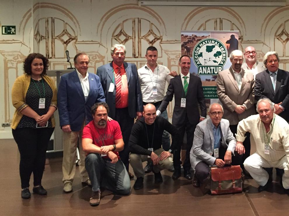 Imagen de la asamblea general de Acción Natural Ibérica.