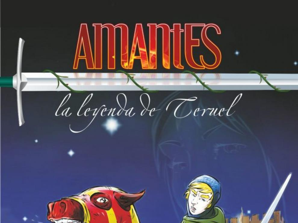Portada del cómic 'Amantes. La leyenda de Teruel'.