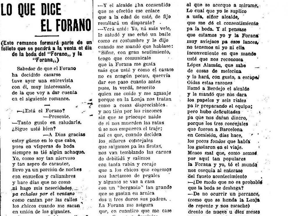 """El Forano habla sobre su próxima boda:""""En La Lonja nos tratan como a cosas despreciables"""""""