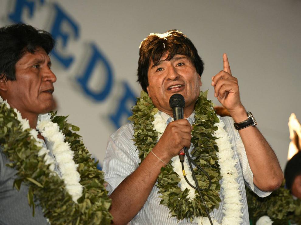 Evo Morales se plantea aprobar este año nueva ley para la hoja de coca