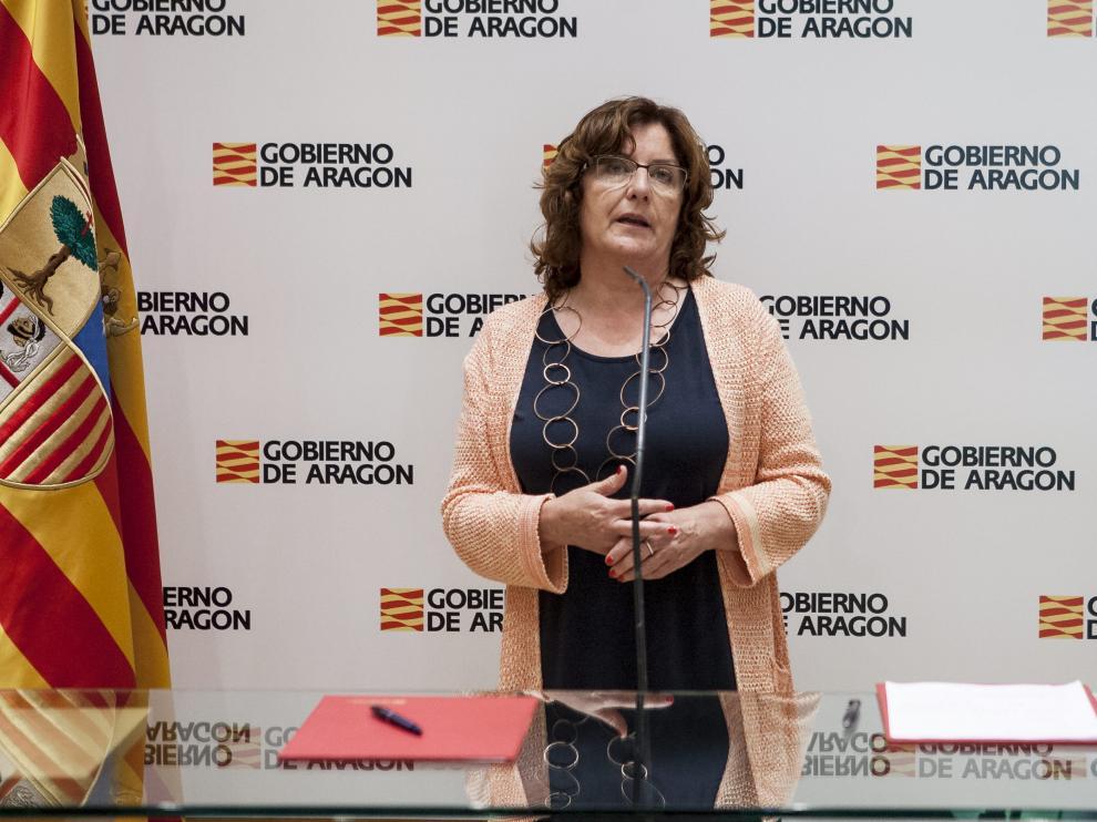 Fotro archivo de la consejera de Ciudadanía y Derechos Sociales, María Victoria Broto.
