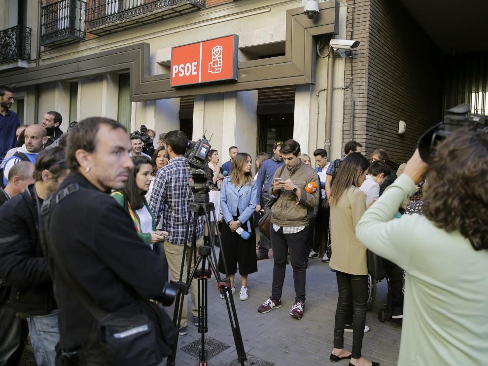 Sede del PSOE en Madrid