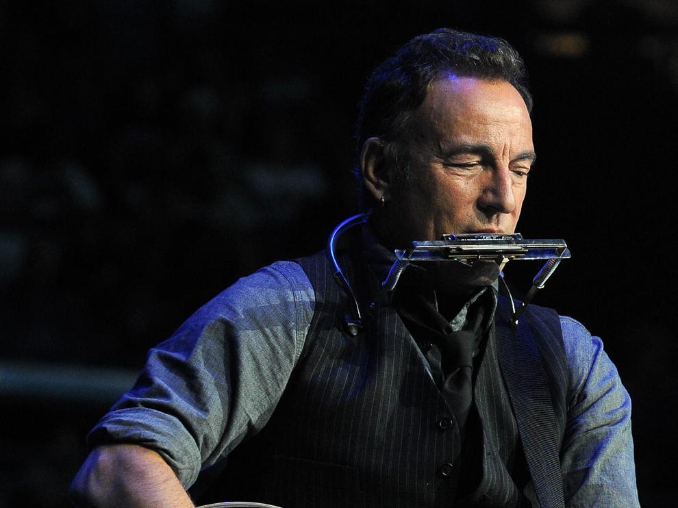 Bruce Springsteen, en un concierto en 2015.