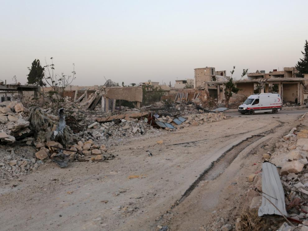 Los bombardeos vuelven a golpear un hospital de Alepo