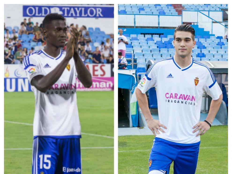 Imágenes de los posibles sustitutos Macky Bagnack y Razvan Popa.