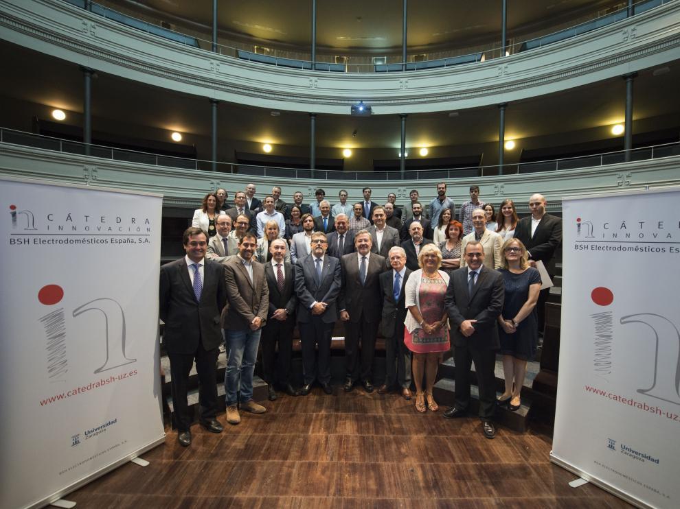 La Cátedra BSH Electrodomésticos en Innovación de la Universidad de Zaragoza ha entregado sus décimos premios a investigadores
