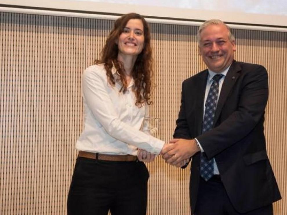 Belén Masiá recibió en 2015 el premio Joven Talento Investigador.