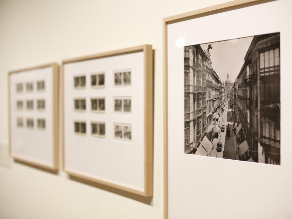 El Paraninfo acoge una exposición de 250 fotos de la Zaragoza del XIX y XX