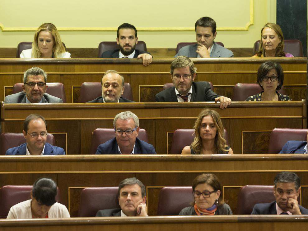 Distribución de los diputados del PSOE en el Congreso