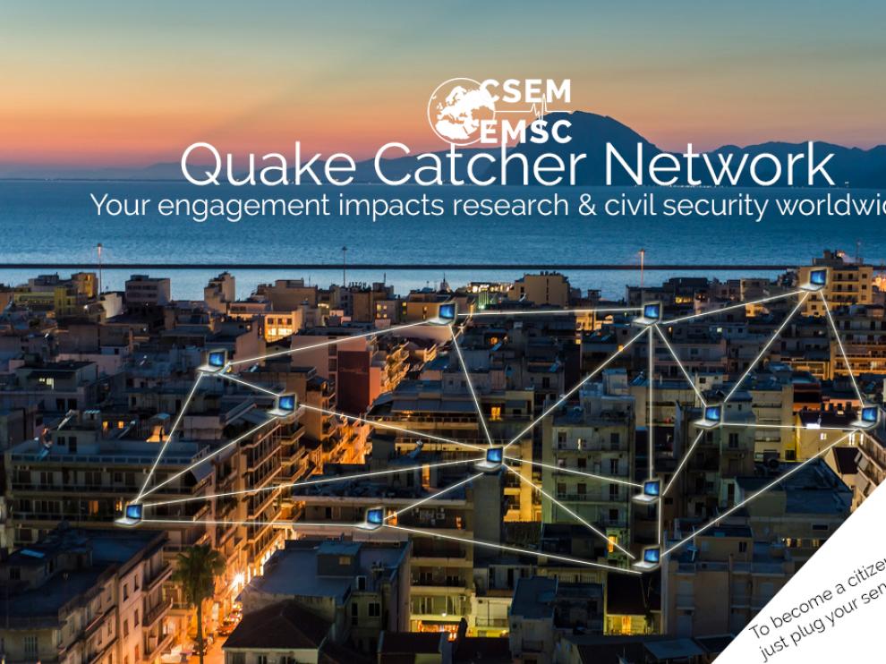 En EE. UU., redes de medición como QuakeCatcher cuentan con cientos de miles de sismómetros distribuidos por casas y escuelas.