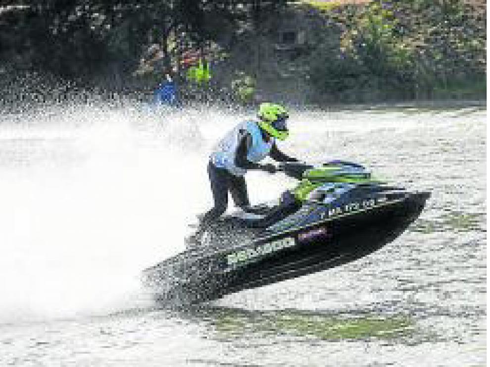 Competición de motos de agua