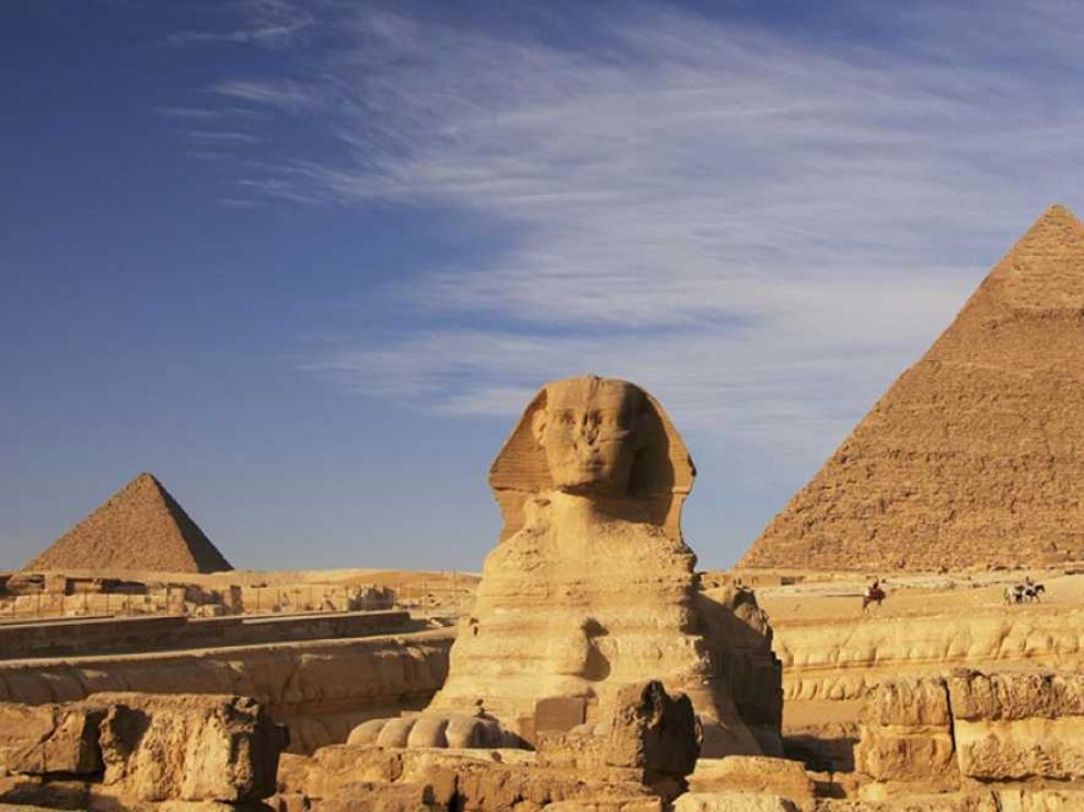 La Gran Pirámide de Keops.