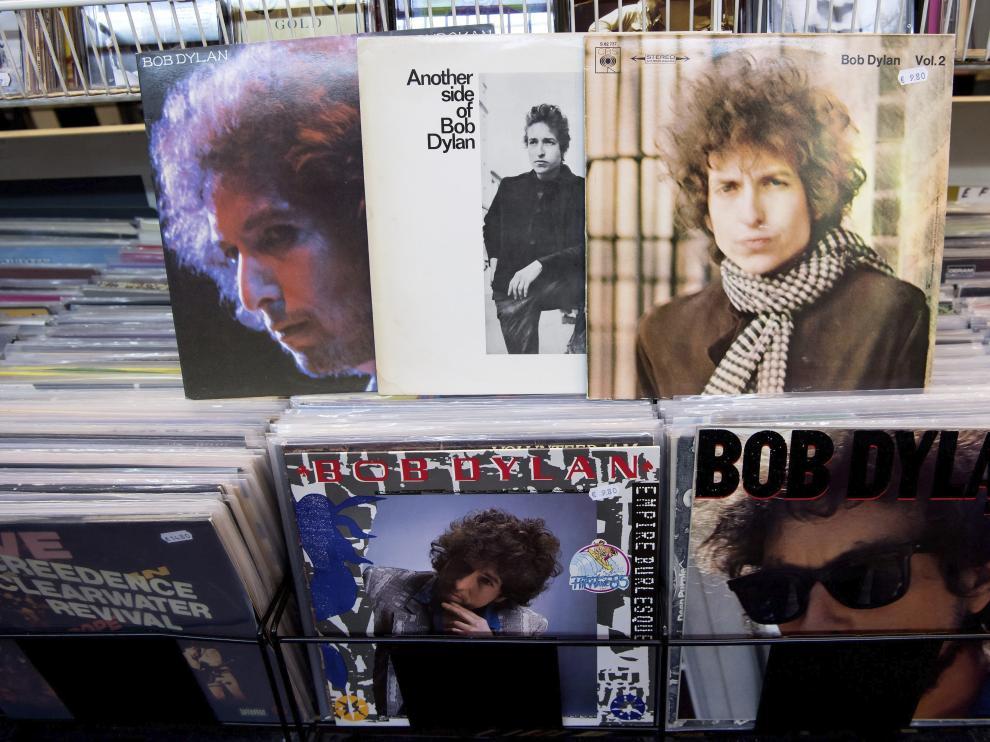 Discos de Bob Dylan.