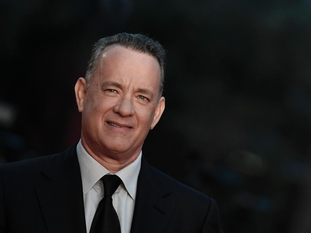 Tom Hanks en el Festival de Cine de Roma.