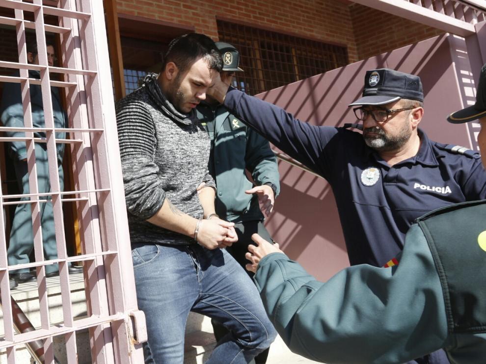 El presunto autor de la paliza a Iván Ramírez, el joven búlgaro I. K. S.