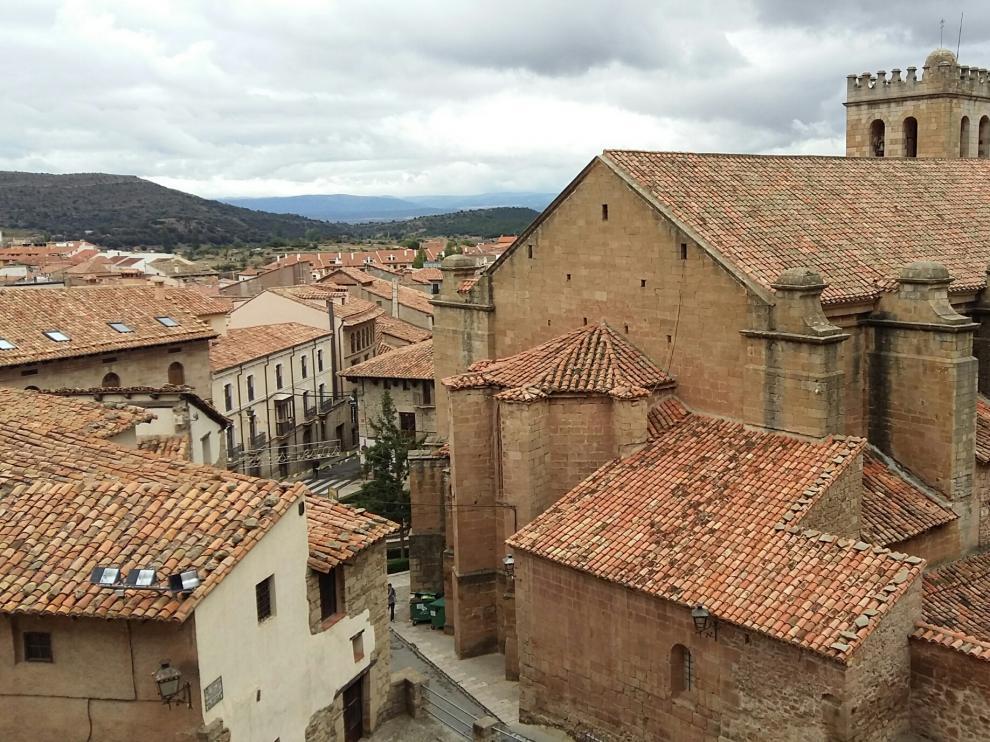 Mora de Rubielos, uno de los parajes 'de cine' que visitarán.