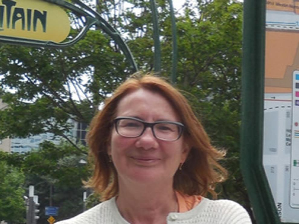 Carmen Peña Ardid, miembro de la Junta directiva de la Asociación Clásicas y Modernas.