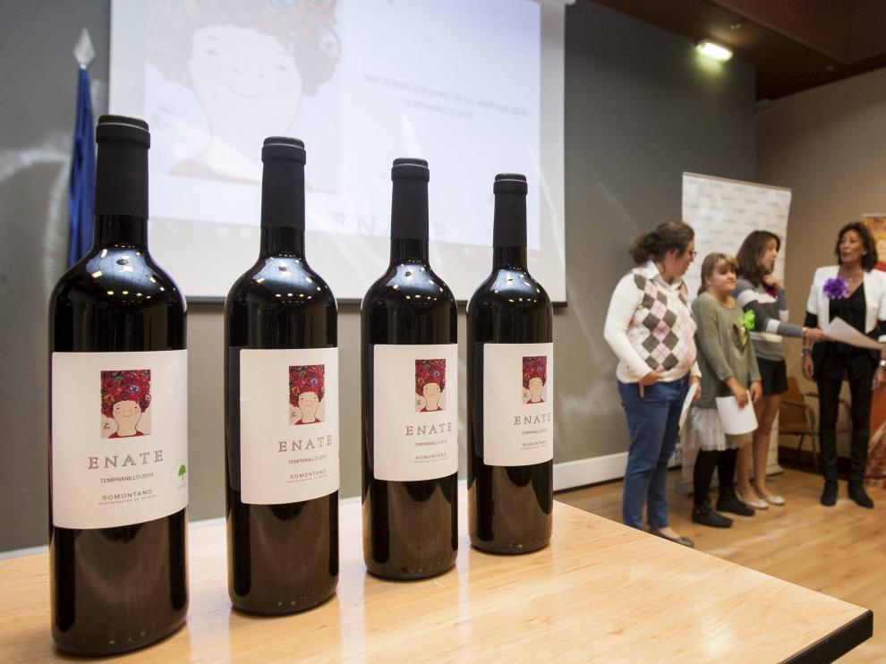 Presentación del Vino de la Amistad.