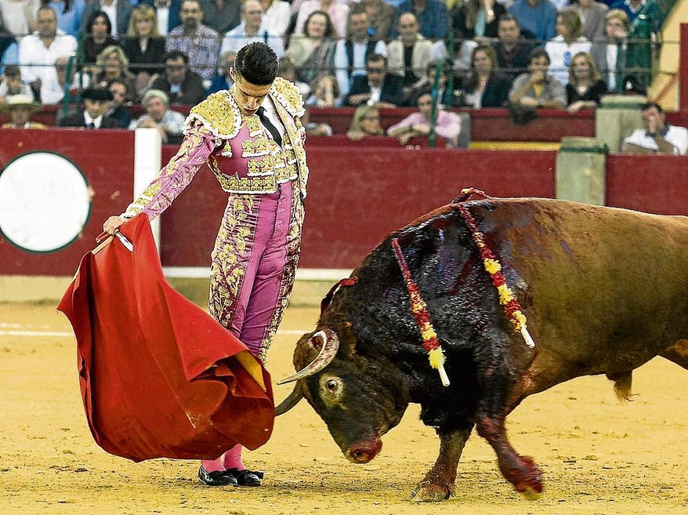 El extremeño Alejandro Talavante resultó triunfador de la Feria tras cortar una oreja en cada toro del Núñez del Cuvillo