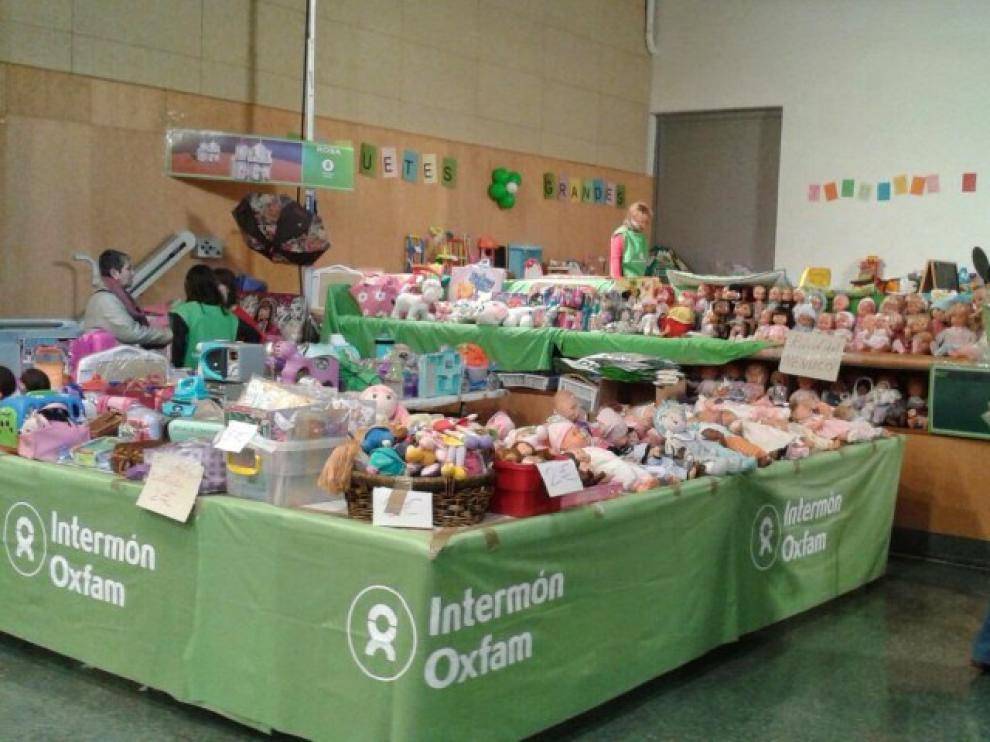 Oxfam Intermón inicia la recogida de juguetes para el rastro benéfico