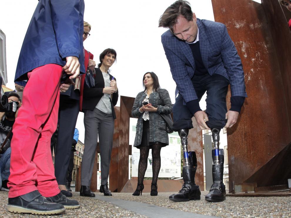 Hugh Herr es el líder mundial en el diseño y desarrollo de las prótesis más avanzadas,