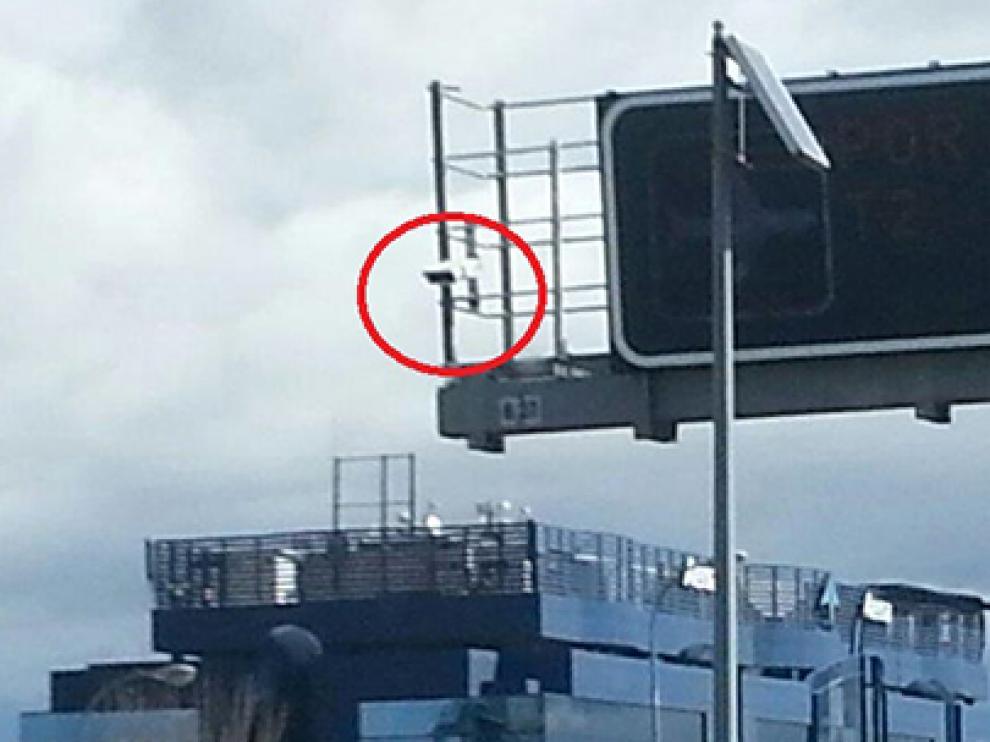 Una de las 222 cámaras instaladas por Tráfico en España