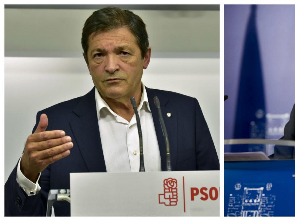 Javier Fernández, José María Barreda y César Luena se han posicionado a favor de la abstención.
