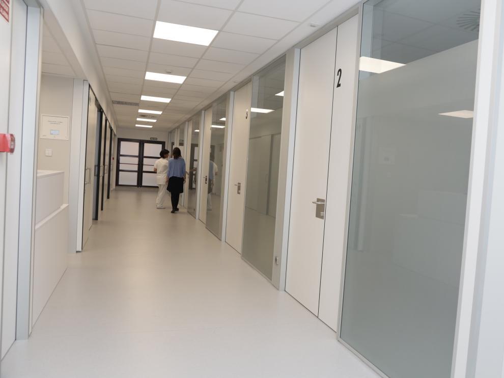 En la nueva Sala de Readaptación al medio se prestarán cuidados hospitalarios a los pacientes que requieren atención antes y después de las intervenciones.