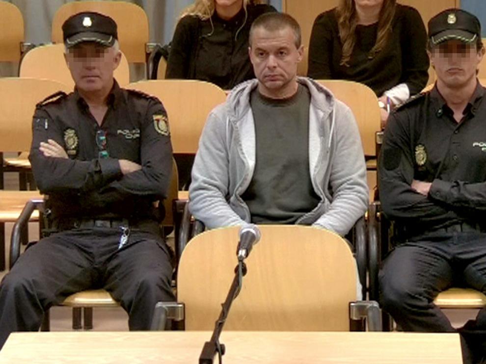 Antonio Ortiz durante el juicio.