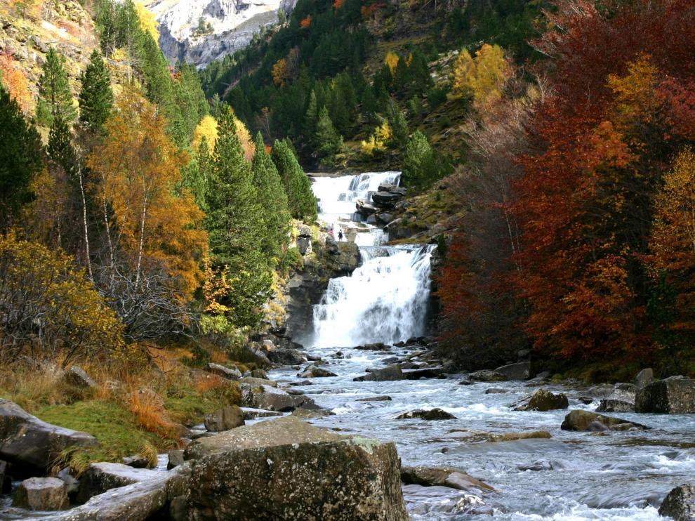 Las Gradas de Soaso, en el Parque Nacional de Ordesa y Monte Perdido.