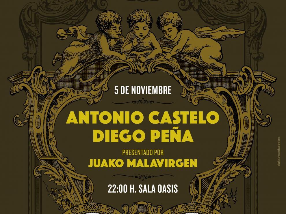 Antonio Castelo y Diego Peña abrirán el ciclo.