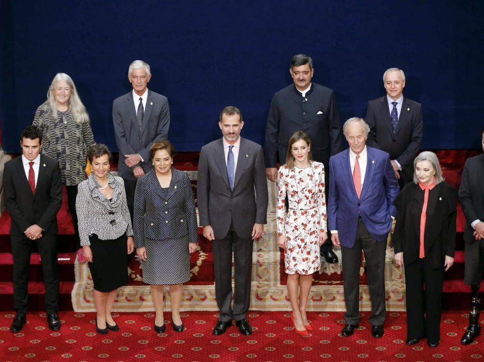 Recepción a los premiados de los premios Princesa de Asturias