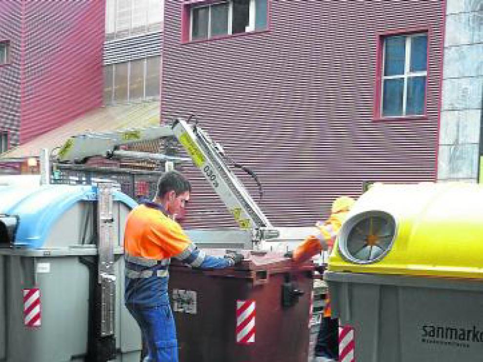 Recogida de basuras mediante el quinto contenedor en el País Vasco