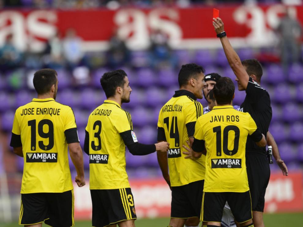 El Real Zaragoza se enfrenta al Valladolid en Zorrilla