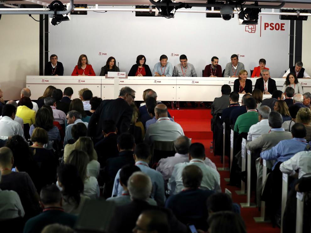 Una imagen del Comité Federal del PSOE