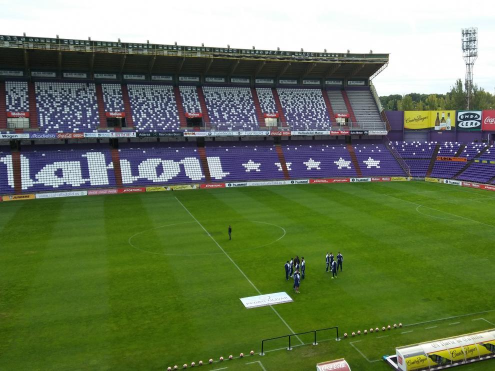 Estadio José Zorrilla en Valladolid