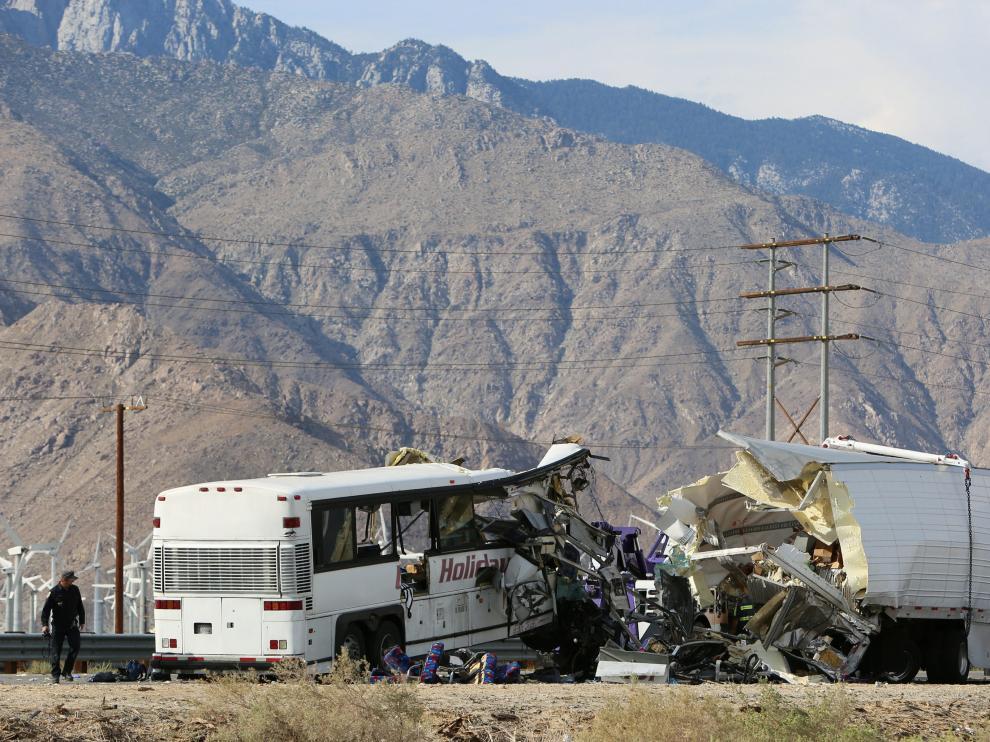 Accidente mortal en California