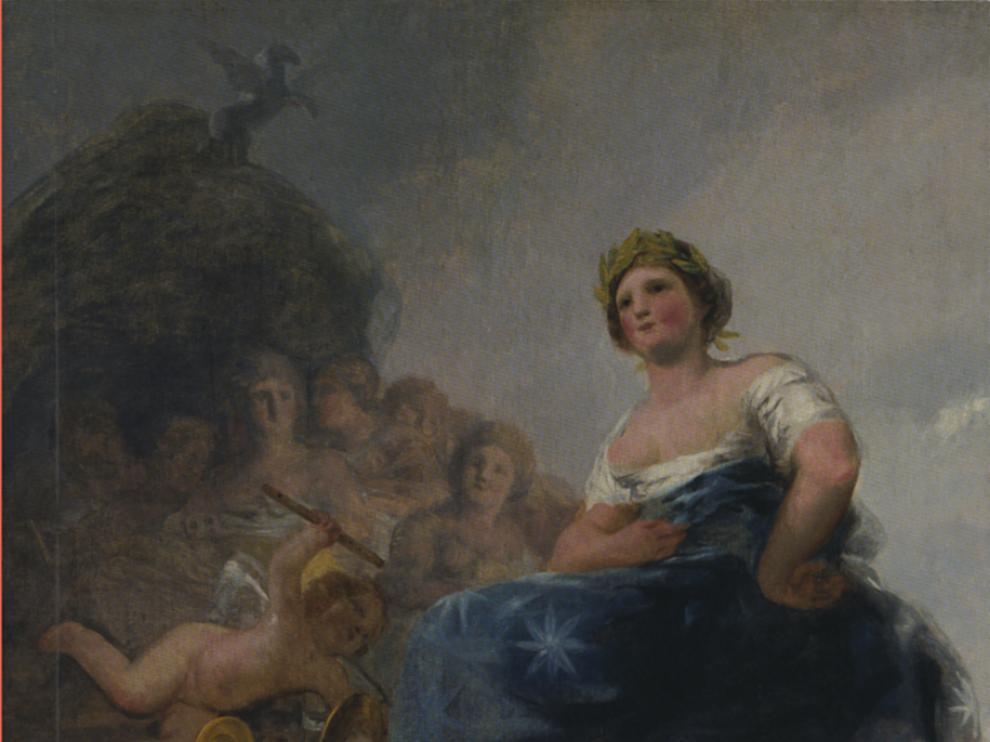 Portada del libro 'Goya en la poesía'.