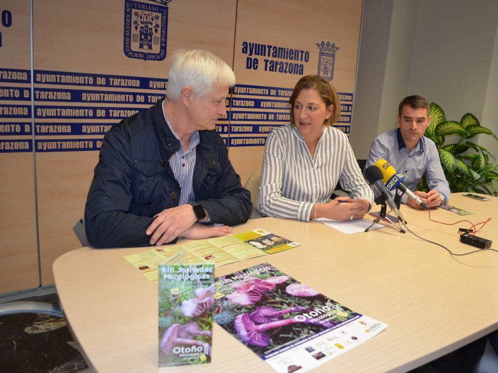 La asociación ha presentado en Tarazona sus jornadas.