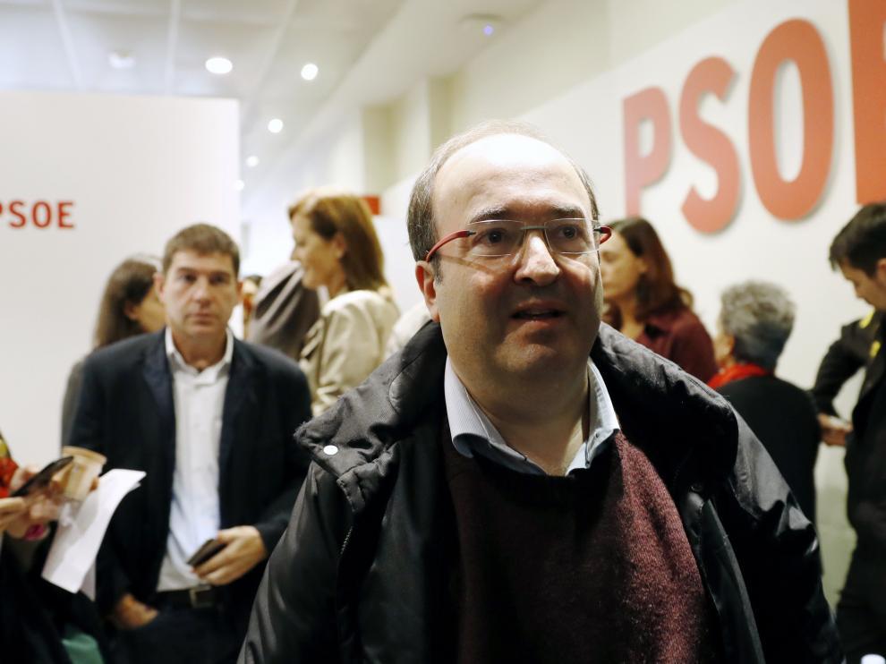 El primer secretario del PSC, Miquel Iceta.