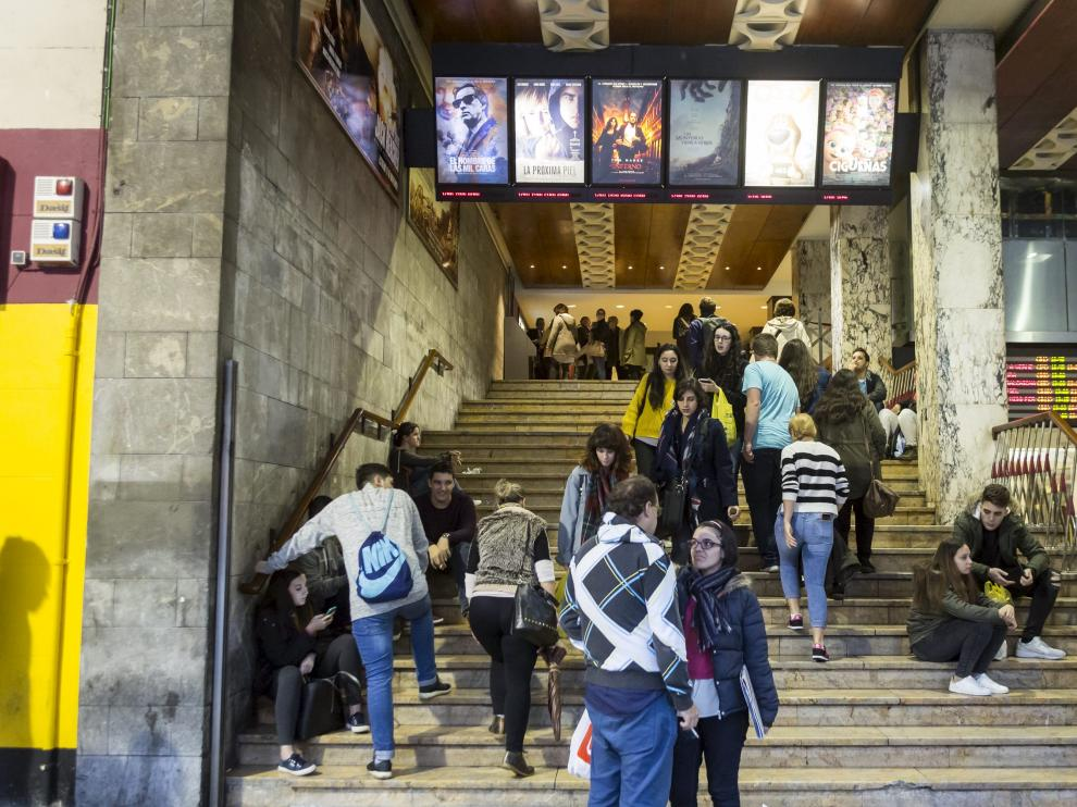 Fiesta del Cine en Zaragoza.