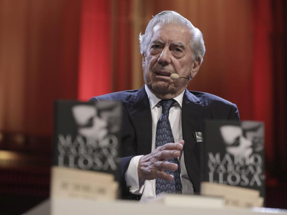 Vargas Llosa, en una imagen de archivo.