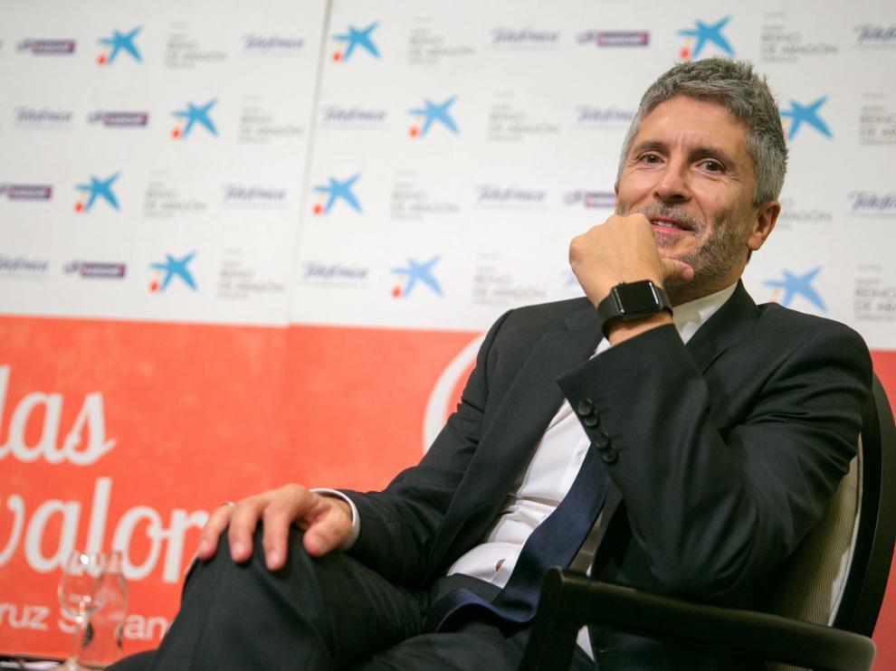 El juez de la Audiencia Nacional, Grande-Marlaska,  en Zaragoza