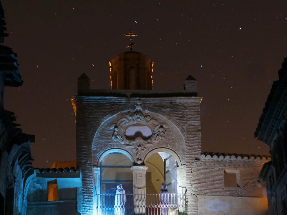 Las visitas nocturnas al pueblo viejo de Belchite serán especiales en Todos los Santos.