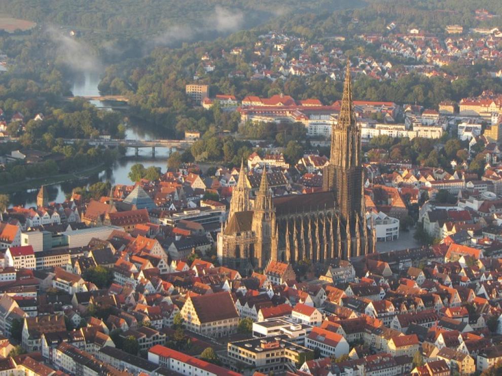 La catedral de Ulm, en la ciudad alemana del mismo nombre.